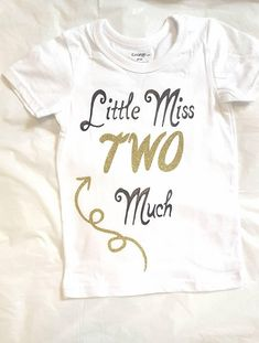 Second birthday outfit, Little Miss Two Much Shirt, Toddler shirt, birthday outfit, toddler girl, Birthday, Birthday shirt