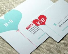 LOVE the cute RSVP options! Wedding Invitation Sample  Cheerful and Whimsical by emandbee, $5.00