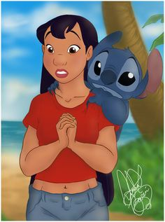 stitch pics and Lilo adult