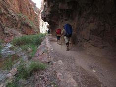 North Kaibab Trail on the first day out with Four Season Guides.