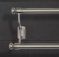 """Bistro Double Towel Bar $145  26½""""W x 4¾""""D x 6½""""H   $145     ..."""