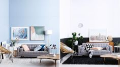 One room styled two ways. Which would you prefer?