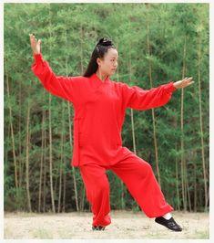 b16b04997 Women's Robe Style Tai chi Uniform Wushu Kung fu Wing Chun Martial arts  Suit A fabulous