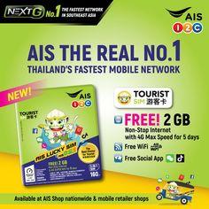 AIS TRAVELLER SIM Suvarnabhumi Airport, Internet Packages, Emergency Call, Krabi, Free Wifi, Southeast Asia, Bangkok, Thailand, Messages
