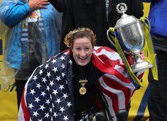 Tatyana McFadden claims fifth title in Boston Marathon women's wheelchair race - The Boston Globe Winning Time, Boston Marathon, In Boston, Globe, Racing, Sports, Women, Running, Hs Sports