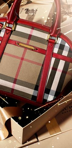 The Orchard bag in iconic check from Burberry