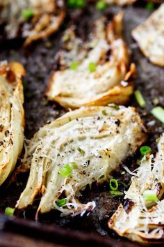 Roasted Fennel with Parmesan, Black Pepper and Chives  #Cowgirl #Recipes #CowgirlRecipes   http://www.islandcowgirl.com