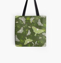 Designer Totes, Iphone Wallet, Moth, Butterflies, Reusable Tote Bags, Art Prints, Canvas, Printed, Awesome