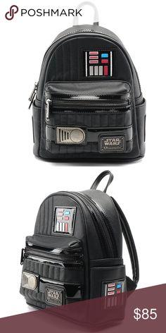 Size 14 x 11 x 7cm Star Wars Darth Vader Mini Suitcase Storage Box NEW