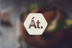 At. Restaurant by n. , via Behance