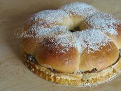 Corona di Pan Brioches alla Nutella-Giallozafferano