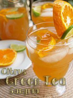 Citrus Green Tea Sangria