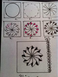 Zentangle-Doodlevergnügen: Phicops