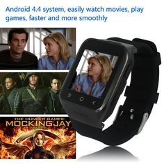 ZGPAX 1.54 Inch 3G Android Smart Watch with Email GPS WIFI