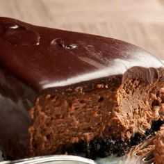 Chocolate Fudge Cheesecake Recipe from Grandmother's Kitchen