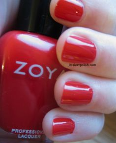 all time fave summer red = @Zoya Nail Polish Sooki!