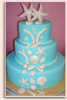 Cakes By Karol - Wedding Cakes another gorgeous #tropical inspired #wedding cake