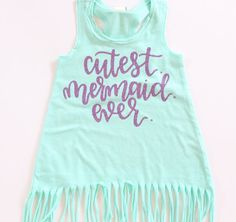 Hey, I found this really awesome Etsy listing at https://www.etsy.com/listing/279889992/baby-girl-clothes-cutest-mermaid-ever