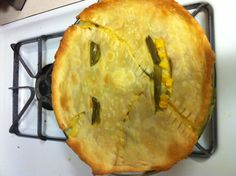 Halloween just wouldn't be the same without a Leatherface Chicken Pot Pie.