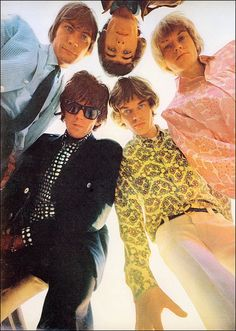 The Rolling Stones, 1966. Photo by Art Kane for McCall's.