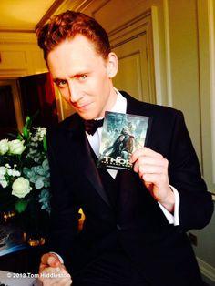 Tom Hiddleston at the Thor:The Dark World premiere in London.