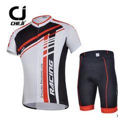 Cheji Clothes Cycling Outfit Racing Men's MTB Cycling Jersey and Shorts Set