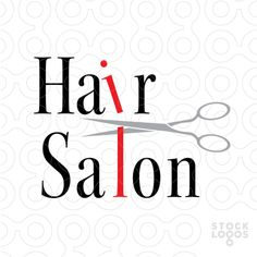 This minimal logo remind to haircutting by the game between i and l letters with a scissor than cut them.