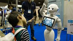 Hi-tech robots are a