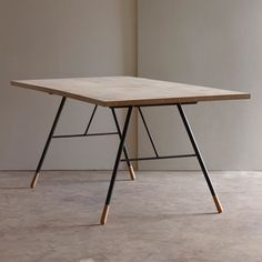 tipped dining table