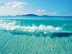 Crystal Clear Water, Bahamas.