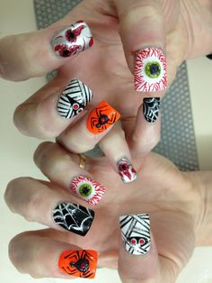 My cute nails by lee!