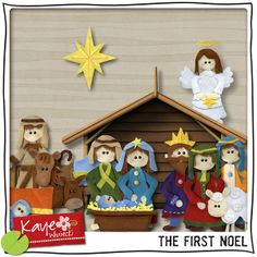 ISO Nativity Kits - DigiShopTalk Digital Scrapbooking