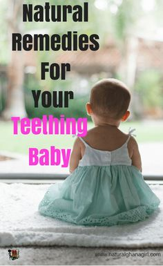 Natural Remedies For Your Teething Baby Lets face it a teething baby is a difficult time for both mother and baby. It can be hard to know exactly what to do it relieve the pain. Here are some great tips to help yu along the way. Baby Teething Remedies, Natural Teething Remedies, Natural Remedies, Teething Symptoms, Cool Baby Girl Names, Baby Names, Baby First Week, Baby Calm, Gentle Parenting