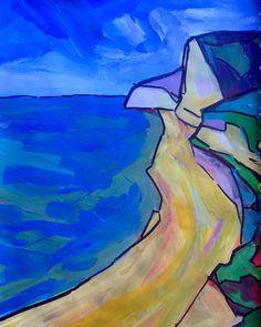 Modern impressionist art by Matt Shepherd.