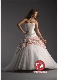 Mobe de bal Sans bretelles 2012 robe de mariée wnb0029