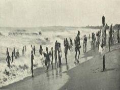 Marina Beach, Chennai in 1905