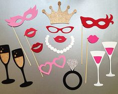 photo booth props wedding – Etsy CA
