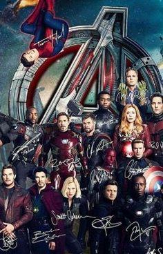 Avengers signed poster but incomplete without captain Marvel Films, Marvel Art, Marvel Characters, Avengers Poster, The Avengers, Poster Marvel, Marvel Funny, Marvel Memes, Iron Man