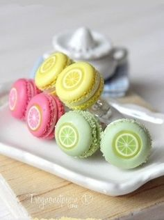 Wow! these are so pretty ♥ yum