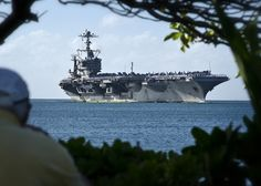 The Nimitz-class aircraft carrier USS John C. Stennis (CVN-74) returns to Joint Base Pearl Harbor-Hickam. (US Navy Photo by Mass Communication Specialist 2nd Class Daniel Barker/Released)  via @AOL_Lifestyle Read more: http://www.aol.com/article/news/2016/09/26/21-photos-that-show-just-how-imposing-us-aircraft-carriers-are/21475023/?a_dgi=aolshare_pinterest#fullscreen