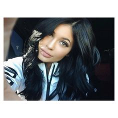 Kylie's No Make-Up Selfie Reveals Something Surprising ❤ liked on Polyvore featuring beauty products