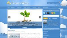 Finance Week Blogger Template is Free Blogger Template designed By Premium Blogger Templates. It has Slide Show, 2columns, 3footer columns