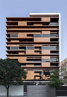 Μια πολυκατοικία υψηλής αρχιτεκτονικής σύνθεσης στο Νέο Ψυχικό [pics] - Κατασκευές Κτιρίων