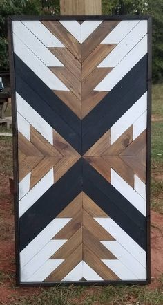 Beautiful Wooden Barn Quilt Wall Hanging or Coffee Table Reclaimed Wood Wall Art, Wooden Wall Art, Diy Wall Art, Wall Wood, Wooden Walls, Hanging Quilts, Quilted Wall Hangings, Barn Quilt Designs, Wooden Barn