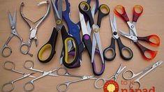 Fold several layers of aluminum foil and cut through several times. Sharpens the scissors! Very Creative Uses For Common Household Items Household Cleaning Tips, Household Items, Cleaning Hacks, How To Sharpen Scissors, Domestic Goddess, Weird Pictures, Little White, Homemaking, Helpful Hints