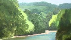 Painting Distant trees - With Michael James Smith