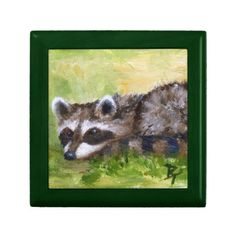 Rascal aceo Raccoon Gift Box http://www.zazzle.com/rascal_aceo_raccoon_gift_box-246752768208227115