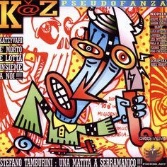K@Z Pseudofanza, 1996 Edizioni Altervoz Grafica e immagine Ale Pop
