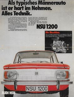 1971 NSU 1200 - Germany by Michael on Flickr