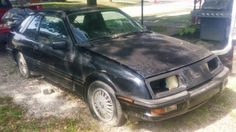 Project Potential: 1988 Merkur XR4Ti #USA #American, #Ford, #Projects - https://barnfinds.com/project-potential-1988-merkur-xr4ti/